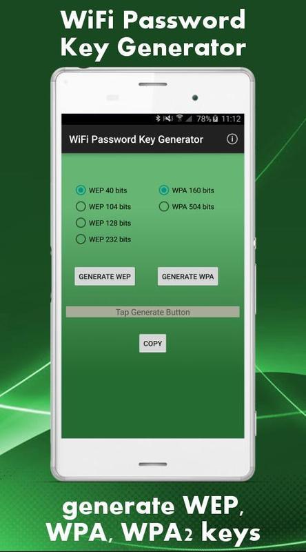wifi password key generator apk download