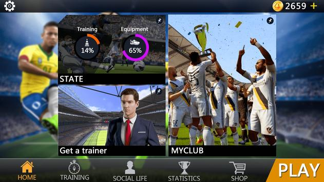 Soccer - Ultimate Team screenshot 2
