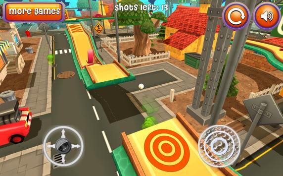 Mini Golf 3D Cartoon City apk screenshot