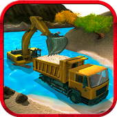 River Sand Excavator Simulator icon