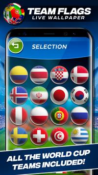World Cup 2018 Teams Flags Live Wallpaper For Android Apk