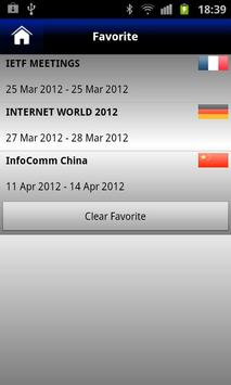 World IT Events apk screenshot