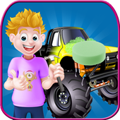 Monster Truck Wash & Repair icon