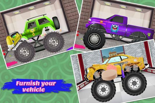 Monster Truck Wash & Repair screenshot 13