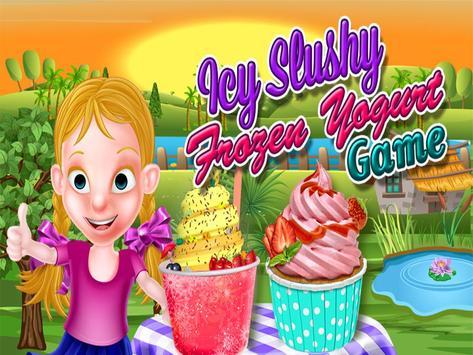 Icy Slushy Frozen Yogurt Maker poster