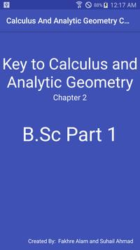 Chapter 2 - Calculus And Analytic Geometry B.Sc 1 poster