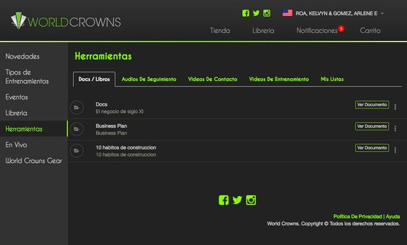 WorldCrowns screenshot 10