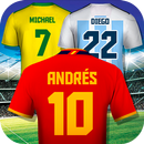 World Cup 2018 Football Shirt Maker APK