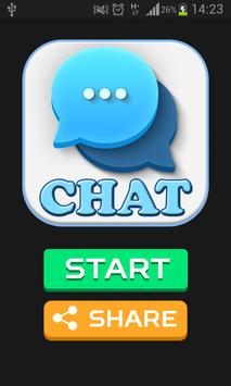 CHAT & SMS prank poster