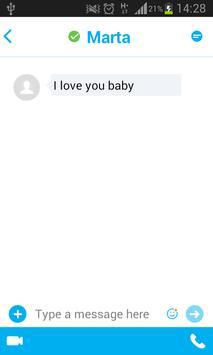CHAT & SMS prank apk screenshot