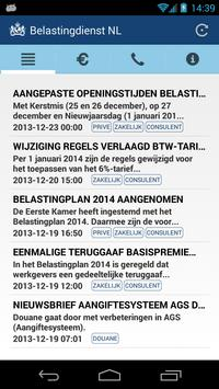 Belasting Nieuws NL screenshot 1