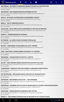 Politie Nieuws NL screenshot 11