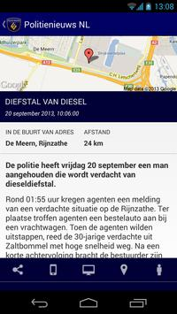 Politie Nieuws NL apk screenshot