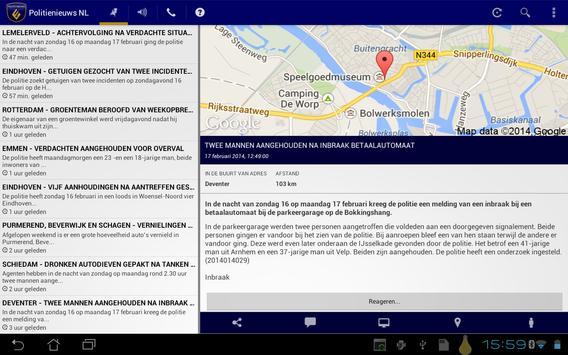 Politie Nieuws NL screenshot 5
