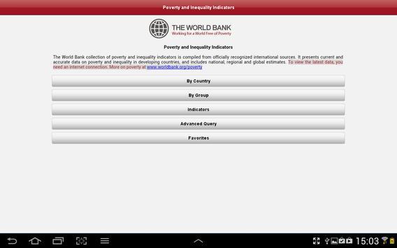 Poverty&Inequality DataFinder apk screenshot