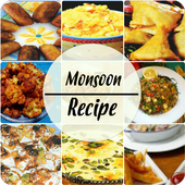 Monsoon Recipe in Hindi 2017 icon