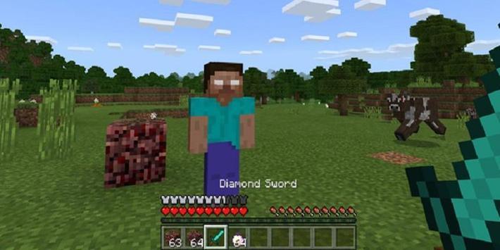 MOD Herobrine screenshot 1