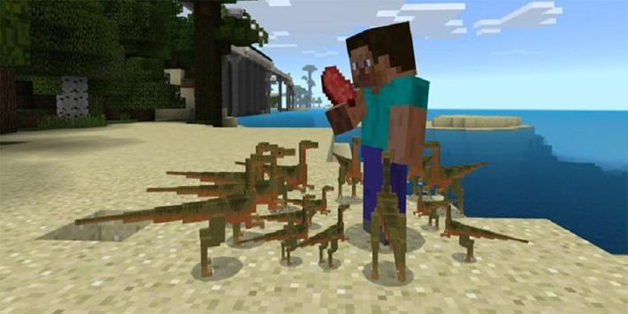 MOD Jurassic Craft screenshot 5