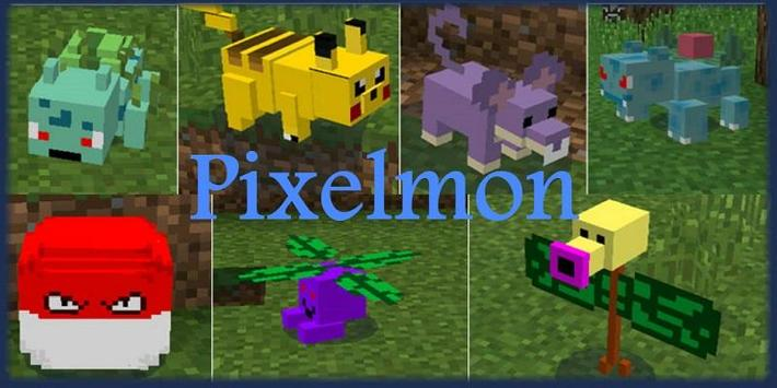 MOD Pixelmon screenshot 2