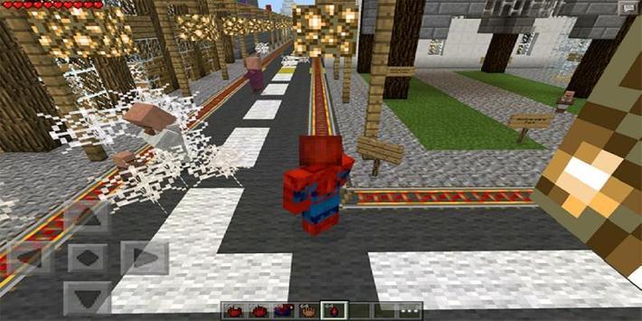 MOD Spider-Man for MCPE screenshot 1