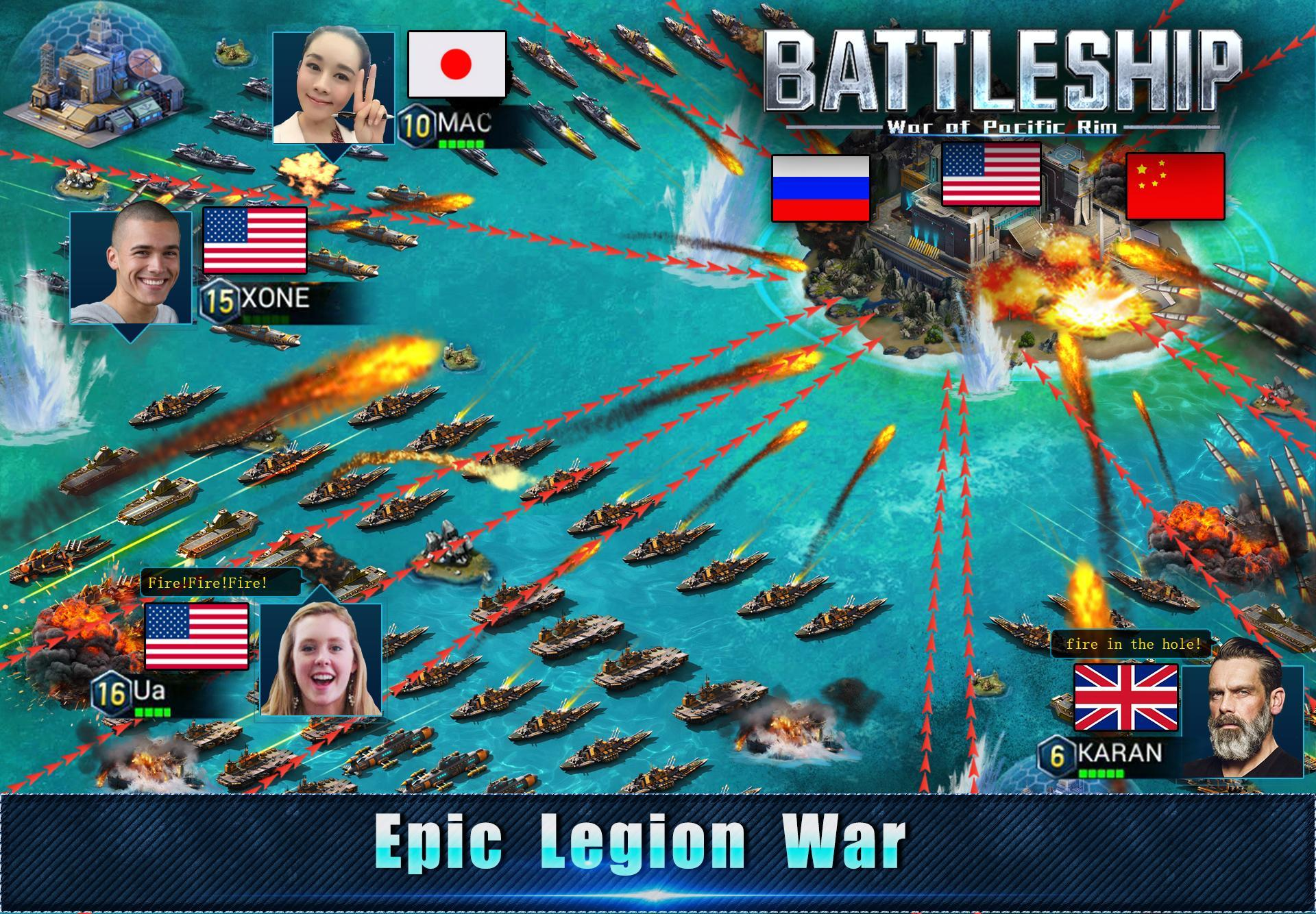 Battleship: Legion War of Pacific Rim for Android - APK Download
