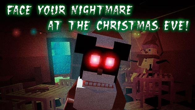 Christmas Night: Cube Pizzeria poster