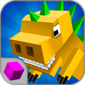 Craft Dino City Rampage 3D icon
