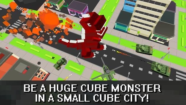 Craft Dino City Rampage 3D poster