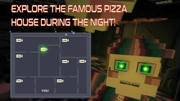 Cube Pizzeria: Six Days To Survive apk screenshot