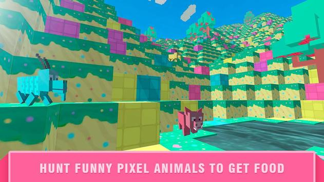 Girls Cube World Exploration apk screenshot