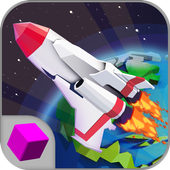 Cube Air Force Rocket Flight icon
