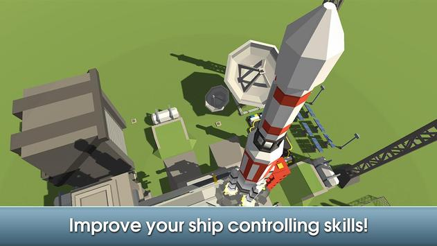 Cube Air Force Rocket Flight screenshot 7
