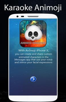 Animoji Karaoke Panda 3D For Phone X 2018 screenshot 1