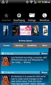 WorldLive Pop screenshot 1