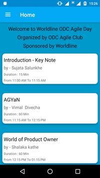 Worldline ODC Agile day screenshot 1