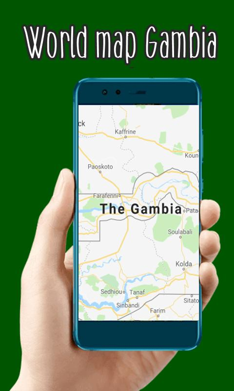 World map gambia apk download free travel local app for android world map gambia poster gumiabroncs Images