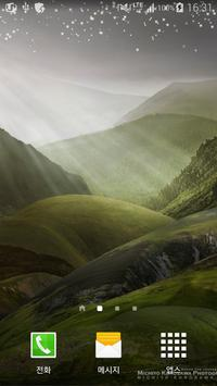 hope mountain live wallpaper poster