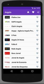 Angola Newspapers screenshot 1