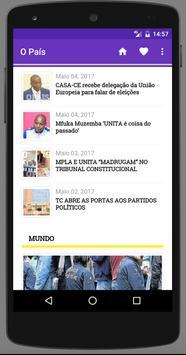 Angola Newspapers screenshot 7
