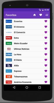 Ecuador Newspapers screenshot 2