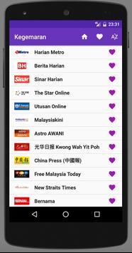 Malaysia Newspapers apk screenshot