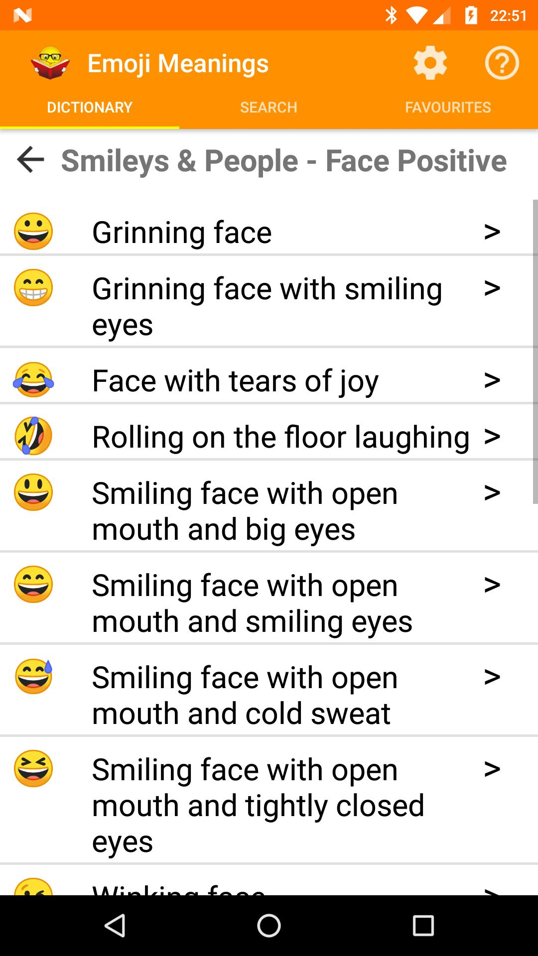 Emoji Meanings