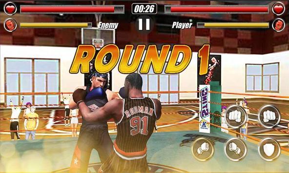 Boxing TKO King:Basketball poster