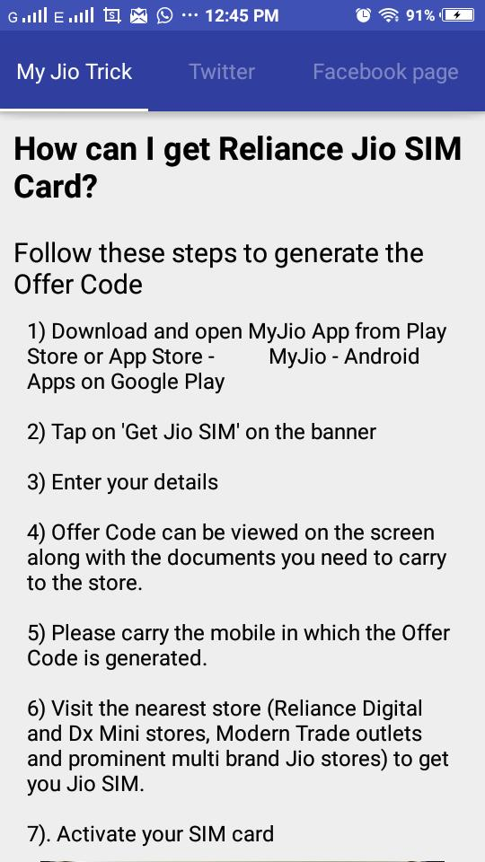 Get Jio 4G Sim for Android - APK Download