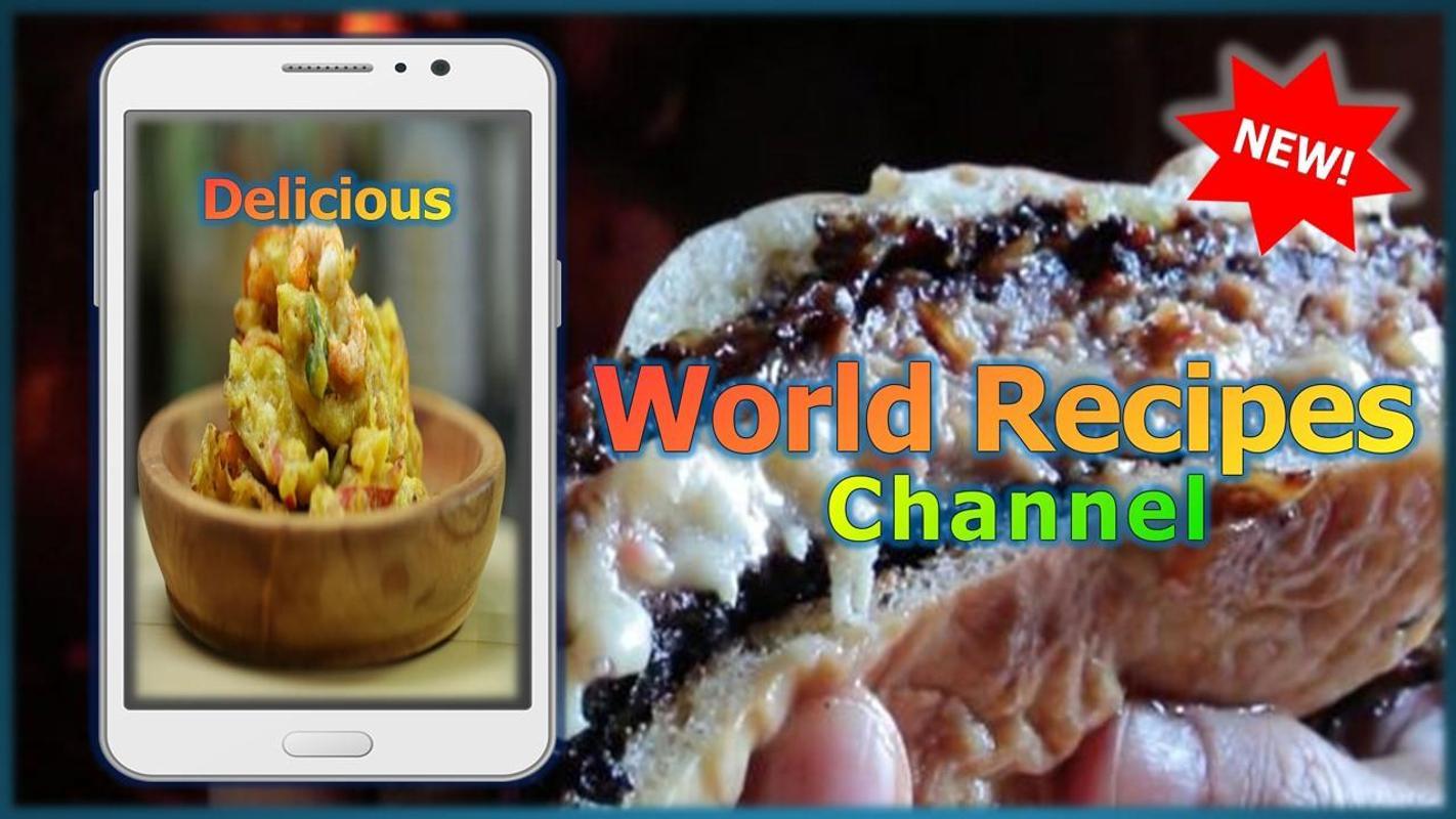 World recipes channel apk download free food drink app for world recipes channel apk screenshot forumfinder Images