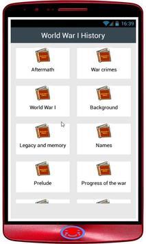 World War I History poster