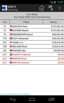 Euro Fantasy Golf apk screenshot