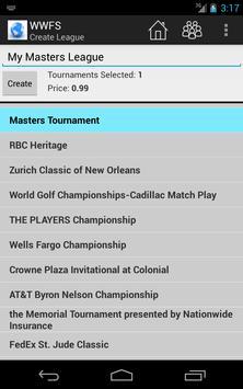 Tour Fantasy Golf apk screenshot