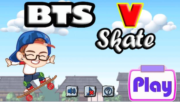 BTS V Skate screenshot 1