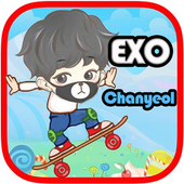 EXO Chanyeol Skate icon